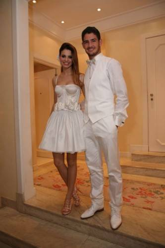 Alexandre pato wedding